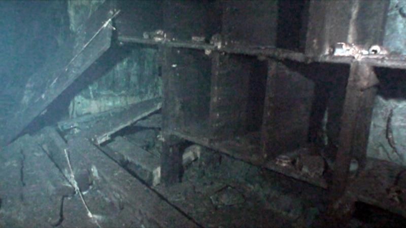 Djupdykning i Tunahästbergs gruva 2010